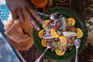 Desert Tours from Ouarzazate- food Tagine