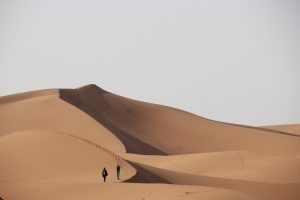 Desert Tours from MHamid - sand dunes