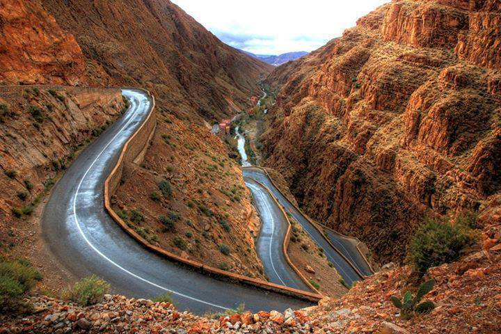 Desert Tour from Marrakech: Highway through High Atlas